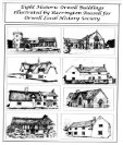 Advert: Notelets for sale - Historic Orwell buildings, beautifully ilustrated by local artist Barry Russell